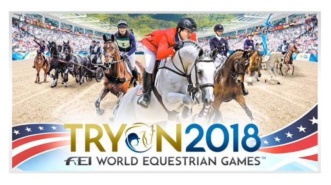 Poster Nro 2 of World Equestrian Games Trion 2018