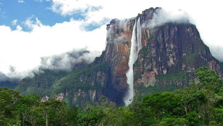 Salto ÁNGEL (La caída más de agua más alta del mundo)