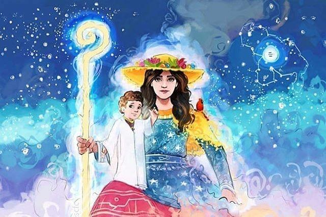 Image of the Divine Shepherdess