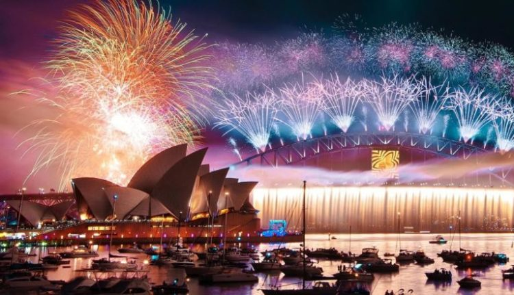 New Year's Eve celebration in the world Sydney - Australia