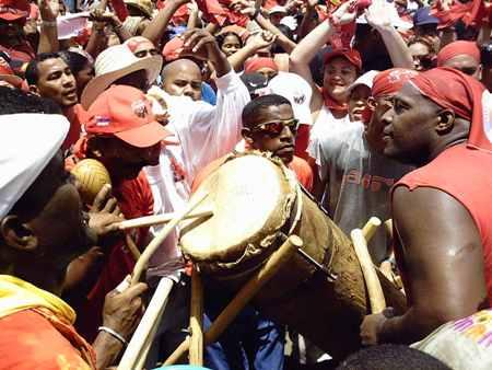Venezuela tierra ardiente y del tambor