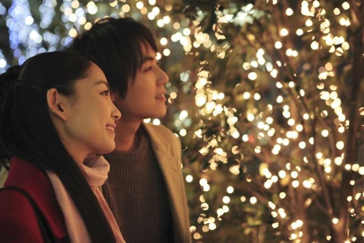 Navidad en Japón de modo romántico
