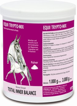Nutritional supplements for nervous horses