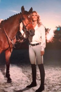 Maria Carolina Chapellin de Mirabal rider