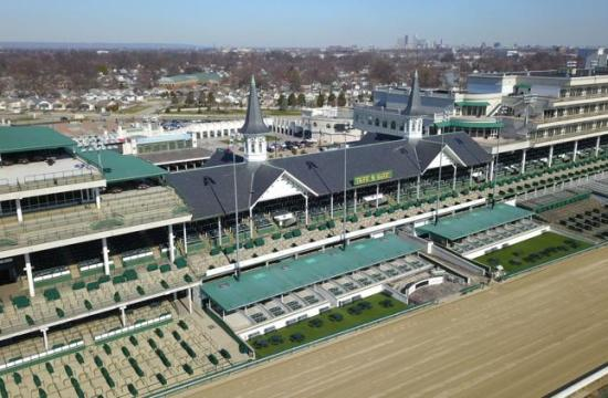 Churchill Downs in Louisville - Kentucky Derby is posponed