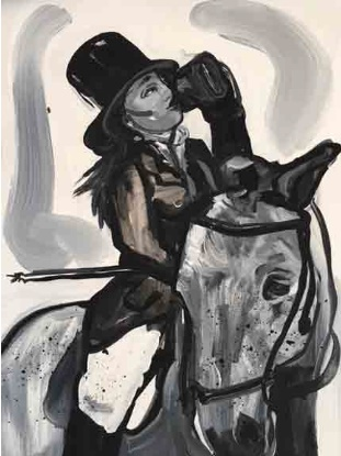 Suzy Spence Untitled Rider (Drinking) (2017) Available for Sale Artsy
