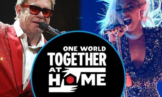 Virutal concert - One World Together at home