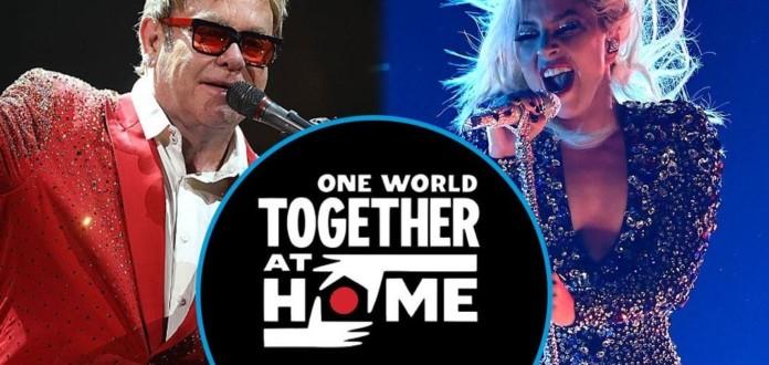 Virutal concert - One World Together at home