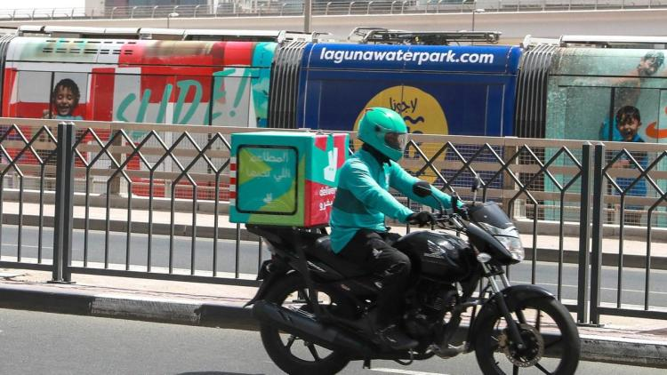 Delivery service in coronavirus times
