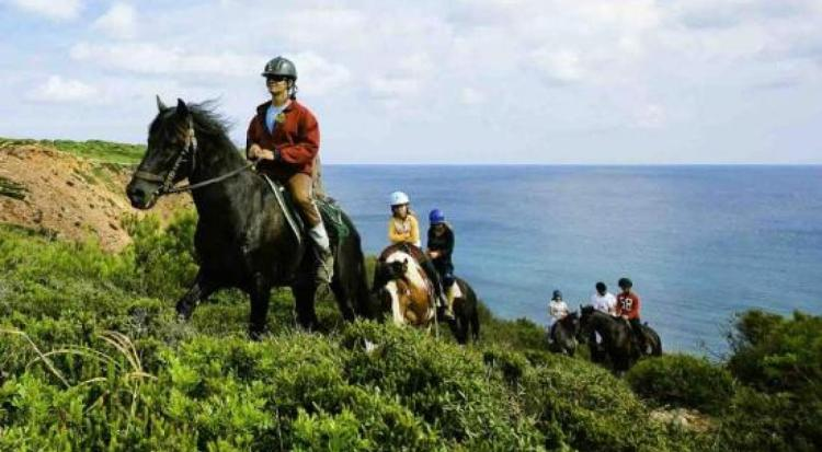Beautiful Landscapes of Equestrian Tourism in Spain
