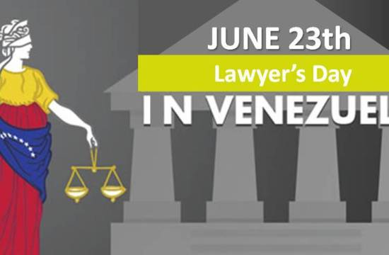 Lawyer's day in Venezuela