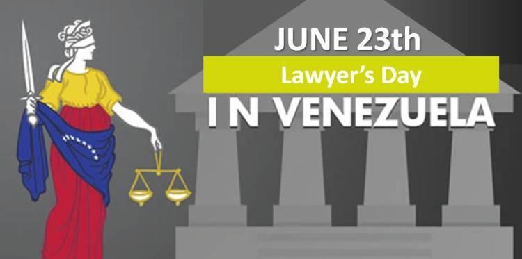 Lawyer's day in Venezuela