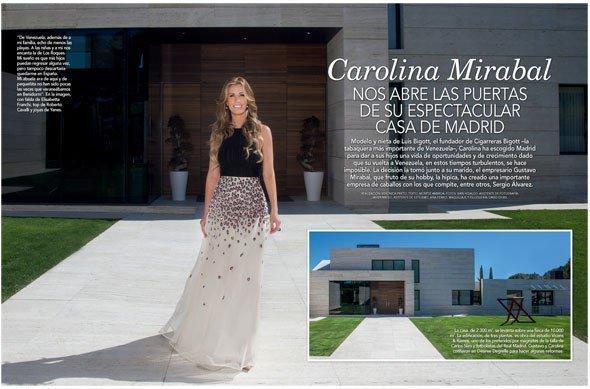 Carolina Chapellín es Carolina Mirabal