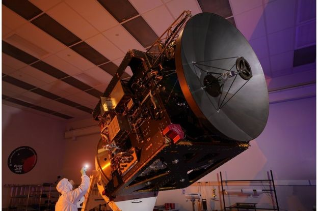 "Amal satellite (mean ""Hope"" in english) launched by UAE"