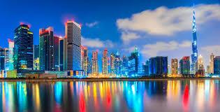 Un lugar actualizado así es Dubái