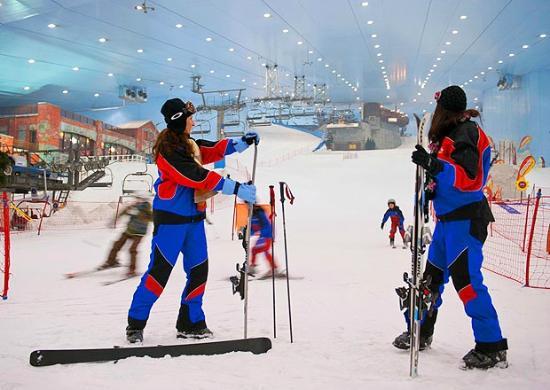Esquiar en el Desierto Dubái
