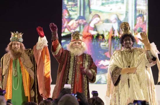 Los 3 reyes magos en España en tiempos de Coronavirus