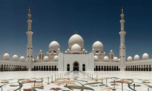 Mezquita Sheikh Zayed - Abu Dhabi - Emiratos Árabes Unidos