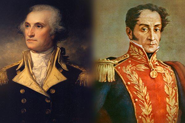 Simón Bolívar y George Washington - Héroes a Caballo de Verdad