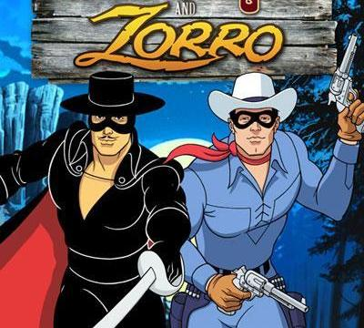 The Lone Ranger and Zorro