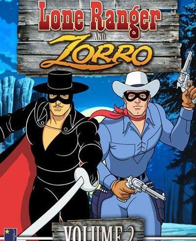 The Lone Ranger and Zorro