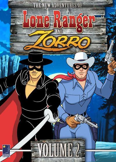 Dos héroes a caballo...