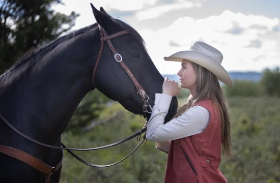 Amy and Spartan - Heartland