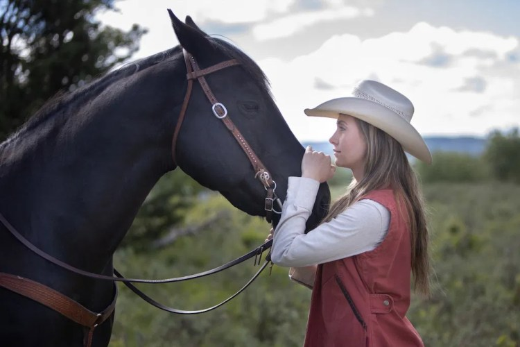 Amy and Spartan - Heartland's Horses in Transmedia Storytelling