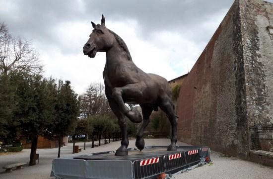 Sforza, El caballo de Leonardo Da Vinci
