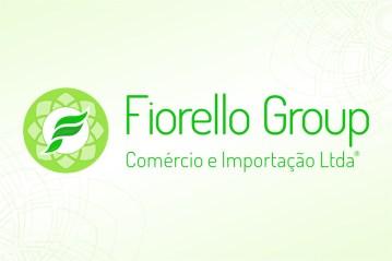 Logotipo em fundo claro, em tons verdes