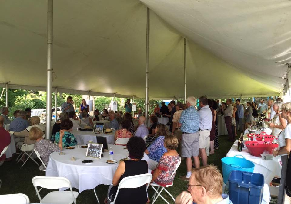 A Successful Summer Garden Party Fundraiser