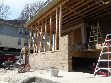 Restoration - Gustav Stickley House Foundation