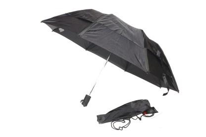Gustbuster Metro umbrella black open