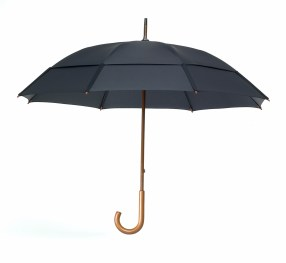 GustBuster Classic windproof umbrella black