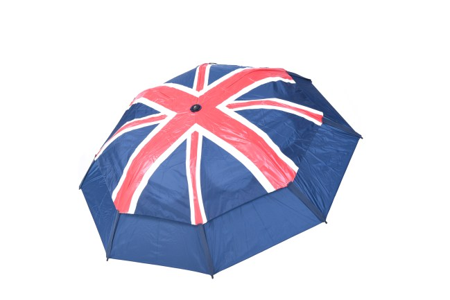 GustBuster Metro windproof umbrella Union Jack