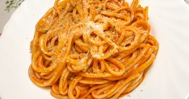 One Pot Tomaten Pasta