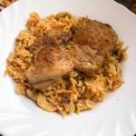 Türkisches Hähnchen mit Reis