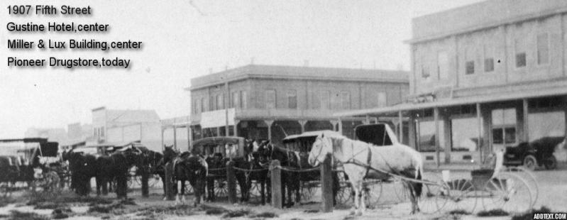 Gustine Historical Society Horses
