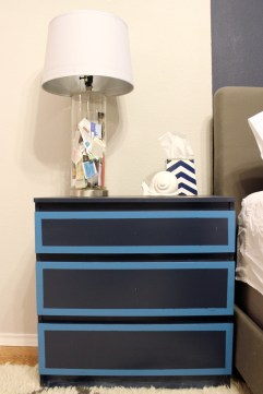 Ikea Nightstand Hack https://gustoandgrace.wordpress.com/2014/02/13/nightstands-before-and-after/