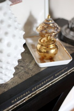 Black and Gold Living Room Decor Accessories