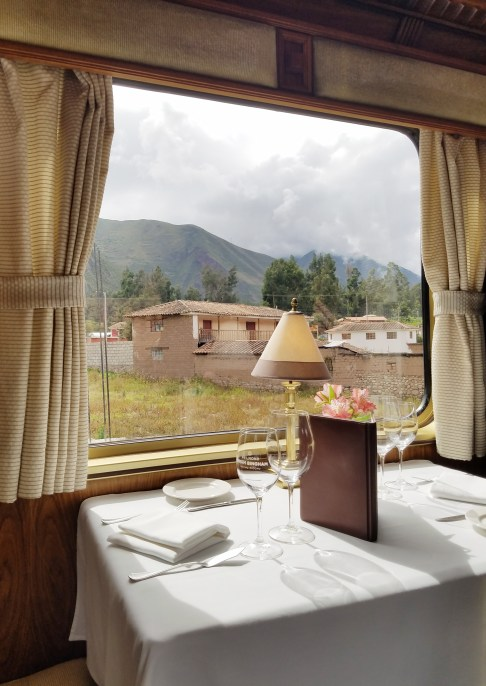 Belmond Hiram Bingham Train Machu Picchu Dining Car Samsung Galaxy