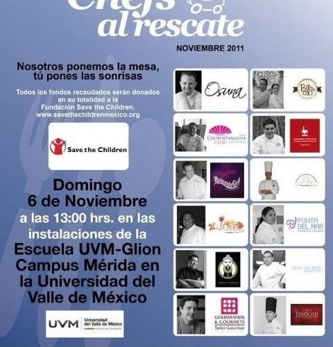 Reseña Chefs al Rescate Mérida 2011