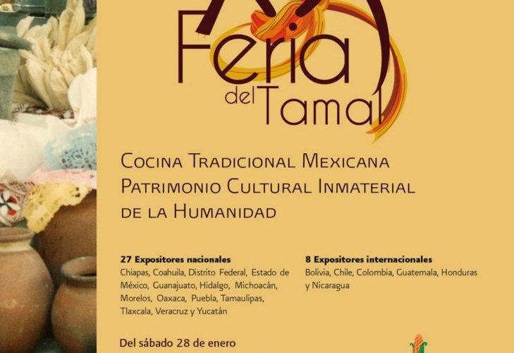 """Entrevista Claudia Corral """"XX Feria del Tamal"""" del 28 de Enero al 2 de Febrero evento único en México."""