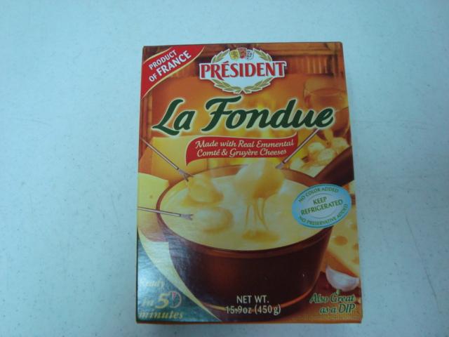 """""""La Fondue de 3 quesos Président"""""""