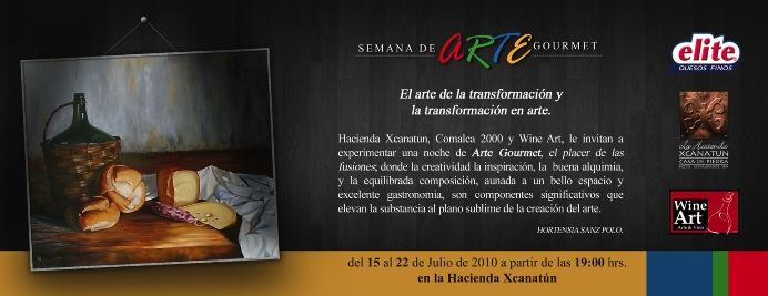 """""""Semana Arte Gourmet"""" Hacienda Xcanatún"""