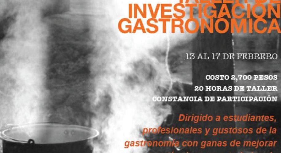 """Taller Investigación Gastronómica en Mérida """"Chef Eduardo Plascencia"""""""
