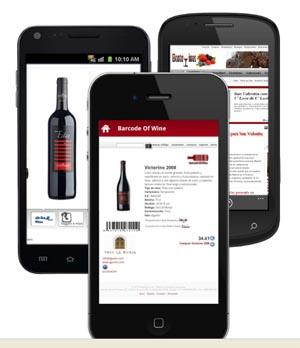 """Barcode of Wine: información sobre vinos, por su código de barras vía """"Diario de Gastronomía"""""""
