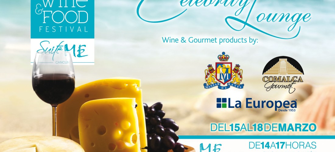 Hotel ME en video sede Celebrity Lounge «Cancún Wine & Food Festival