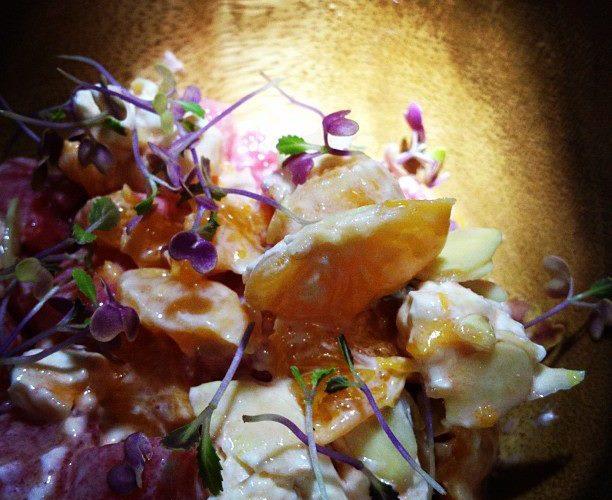 Coctel de Mandarina y Sandía by Chef Enrique Olvera