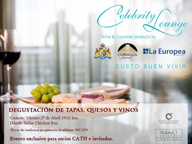 Presentación «Celebrity Lounge» at Hyatt Mérida